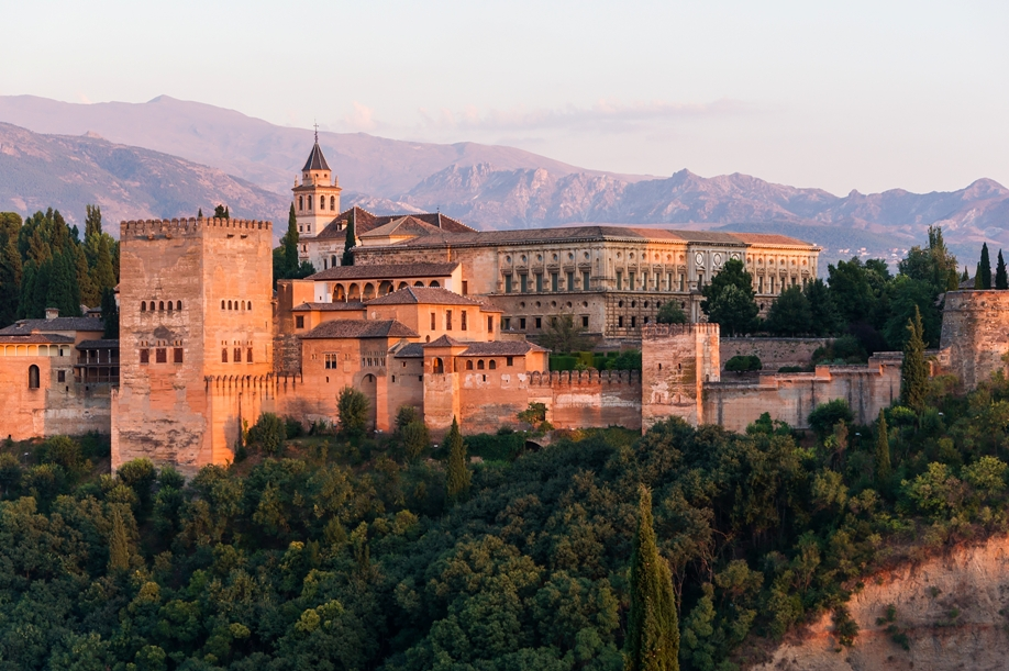 Alhambra view from Albaizin